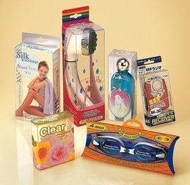 PET化妆品包装盒 (ZD1004)