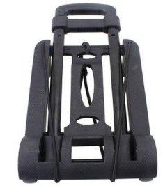 厂家现货易牌X-01银灰轮行李车迷你型轻便手拉车铁质拉杆车承重30KG