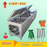 小型白萝卜清洗机 全自动洗萝卜机器