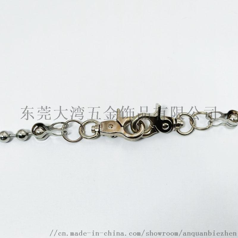 欧美复古青古铜不锈钢链条 裤链挂链定制