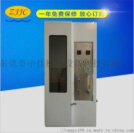 供应 单根电线电缆垂直燃烧试验机ZJ-DGDX1