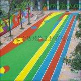 EPDM彩色颗粒弹性地板胶,海口地坪,海南宏利达