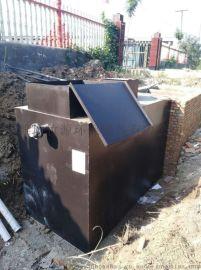 小型养猪场一体化污水处理设备安装