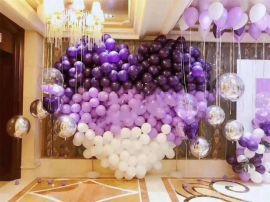 昆明花語花香,氣球寶寶宴,氣球生日宴