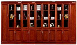 油漆木皮书柜文件柜08/09款 绿色环保健康家具
