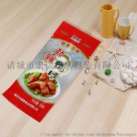 塑料包装袋生产厂家鸡爪卤味食品铝箔包装袋制造印刷