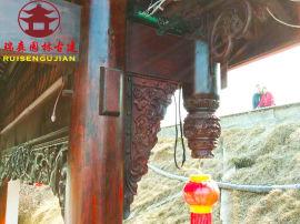 四川古建築裝飾廠家,仿古吊瓜、鬥拱定制