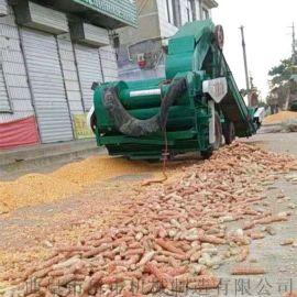 自走式免剥皮玉米脱粒机自动上料玉米脱粒机