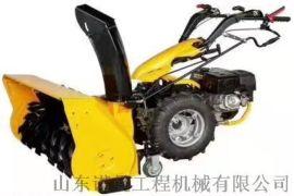 小型扫雪机 汽油多功能扫雪机滚刷式手推抛雪机