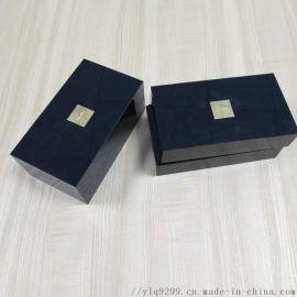 亚克力礼盒有机玻璃黑色长方形礼品盒