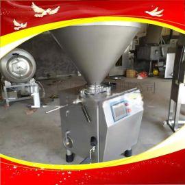 红肠加工机器烤肠加工生产线**真空直灌机带提升