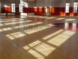 羽毛球場木地板施工建設及羽毛球場地板建設廠家