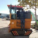 廢料發酵槽式翻堆機 有機肥翻堆設備 有機肥生產線
