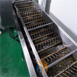 电加热炸油条机 葱香油条油炸锅 全自动油条生产线
