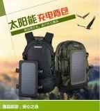 厂家直销登山双肩户外旅行高品质太阳能背包选配移动电源