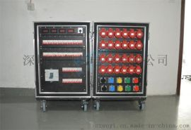 24路电源直通箱 32A*3P输出 灯光音响电源箱