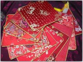 昆山礼品 丝绸鼠标垫