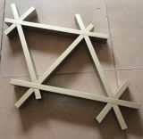 歐百建材三角形鋁格柵生產加工廠