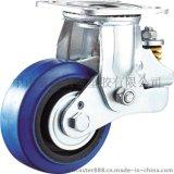 威霸直供重型弹力橡胶减震脚轮