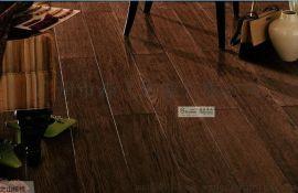 厂家直销 山核桃 多层实木复合地板 手刮复古 外贸出口