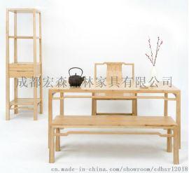 重庆宏森古典新中式家具定做