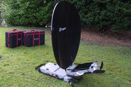 Ku頻段衛星便攜站,衛星地球站, 1.2M口徑