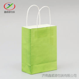 昆明厂家定做彩色服装纸袋茶叶袋白牛皮手提包装袋