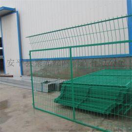 安平聚光丝网家厂定制浸塑防护边框围栏 防护边框围栏