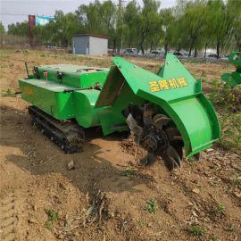 开沟施肥机,多功能履带式开沟施肥回填一体机