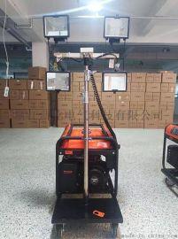 手動/自動升降汽油柴油移動照明車