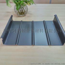 铝镁锰直立锁边65-430金属屋面板