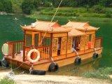 楚歌木船專業製造出售大型畫舫船/公園豪華景區遊船