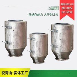 饲料生产线设备永磁筒,溧阳饲料机械TCXT永磁筒