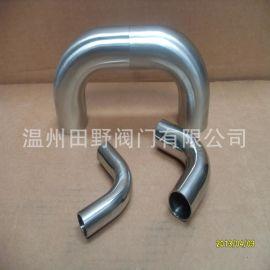304不锈钢加长自动焊弯头,90度卫生型长弯头