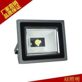 AE照明投光灯大LED功率户外防水广告投射灯路灯隧道灯COB室外投光灯