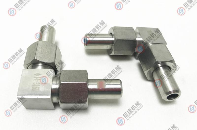厂家直销油压直角弯接头 对焊高压接头 不锈钢直角弯头 对焊弯头