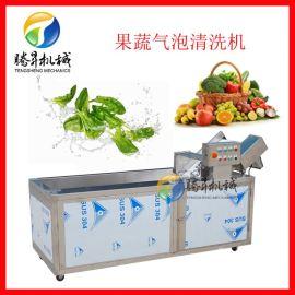 蔬菜气泡清洗机 蓝莓草莓水果清洗机 商用食堂洗菜机