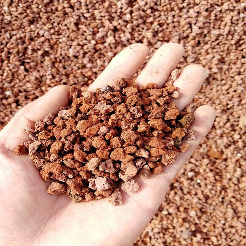 廠家直銷各種型號火山岩高效掛膜生物濾料 火山灰