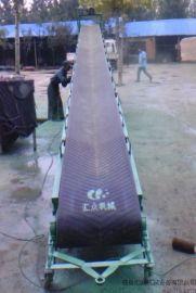 内蒙古土豆装卸皮带输送机|可移动自动升降厂家