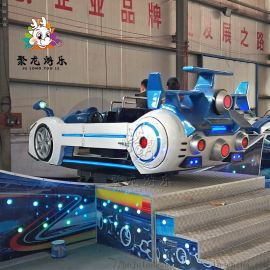 2020年新款旋转飞车游乐设备占地小**少聚龙游乐