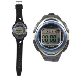 深圳手表厂家直销新款多功能振动闹铃电子运动手表