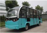 甘肃新款低速14座电动观光车