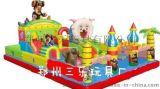熊羊結合的充氣蹦蹦牀  滁州一般的充氣城堡多少錢