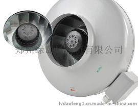 绿岛风圆形加压换气扇DJT15-45B抽油烟换气扇工业排风机450风量
