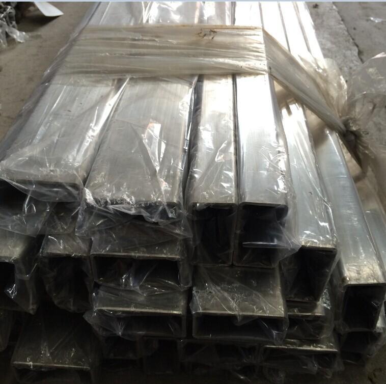 汕头拉丝不锈钢方管 潮州304不锈钢方通(100*100*3.0)