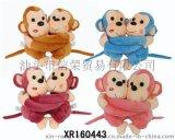2015年新款9寸情侶猴 將迎接2016新生猴