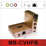 AV复合音视频转网线传输器MB-CVHFB