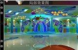 广东揭阳儿童乐园景观艺术设计,广东揭阳室内淘气堡乐园基础装饰装饰