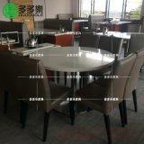 定制港式茶餐廳餐桌椅 大理石餐桌 功夫茶餐桌