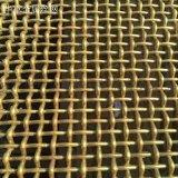 华卓生产铜丝轧花网 紫铜编织网 黄铜过滤网 磷铜屏蔽网